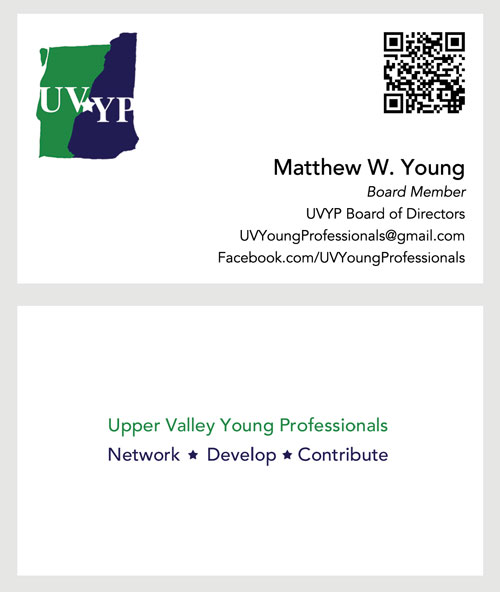 UVYP Business Cards